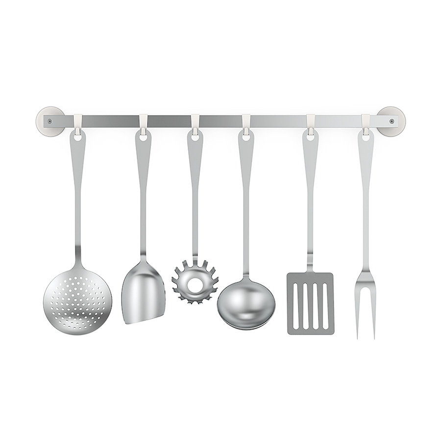 Kitchen cutlery set 3d model