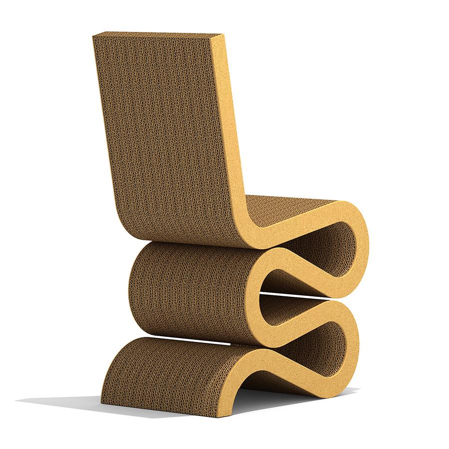 vitra wiggle side chair 3d model. Black Bedroom Furniture Sets. Home Design Ideas