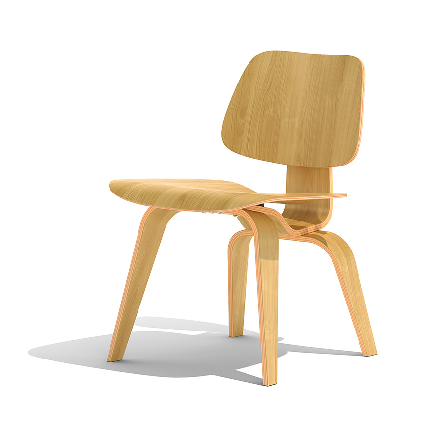 Pleasing Eames Dcw 3D Model Pdpeps Interior Chair Design Pdpepsorg