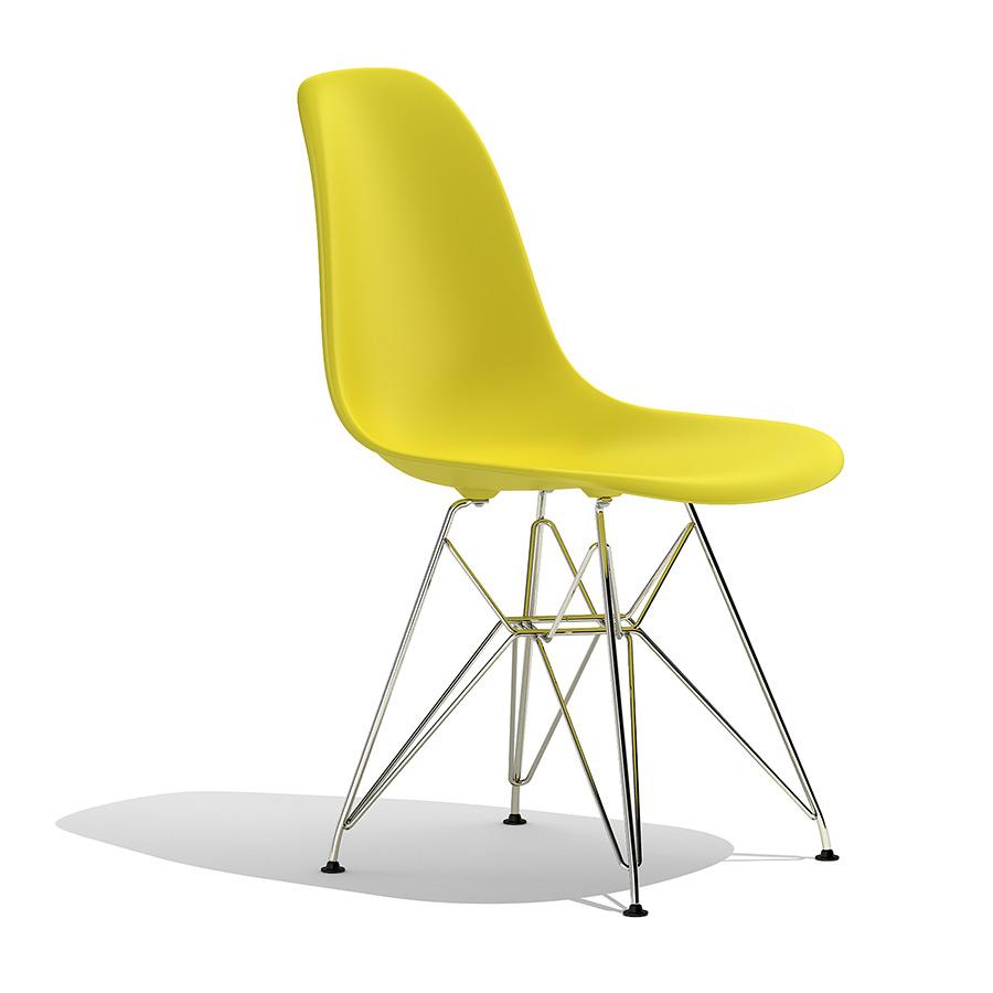 eames plastic side chair dsr 3d model. Black Bedroom Furniture Sets. Home Design Ideas