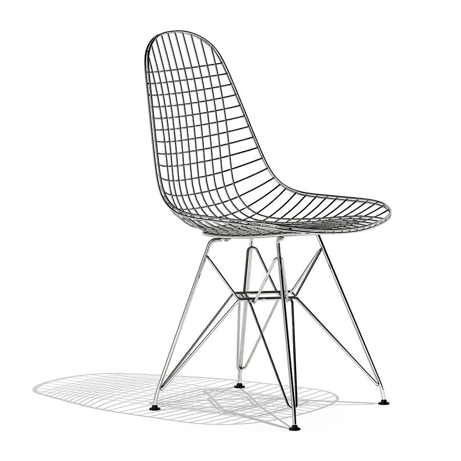 3d Model Dkr Wire Dorxbqcew Chair Vitra kuZPXi
