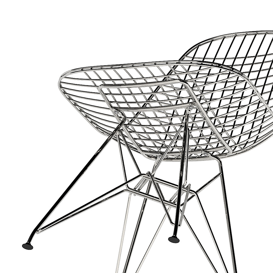 Vitra Wire Chair DKR 3d model