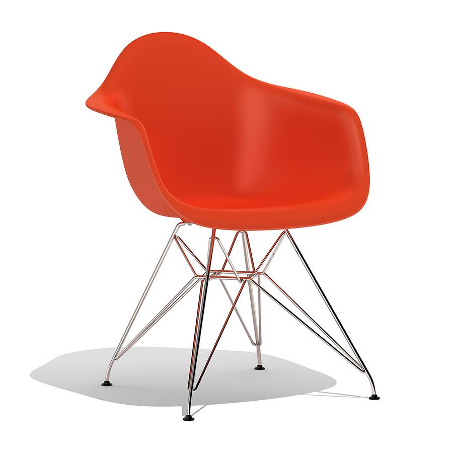 Eames Plastic Armchair Dar 3d Model