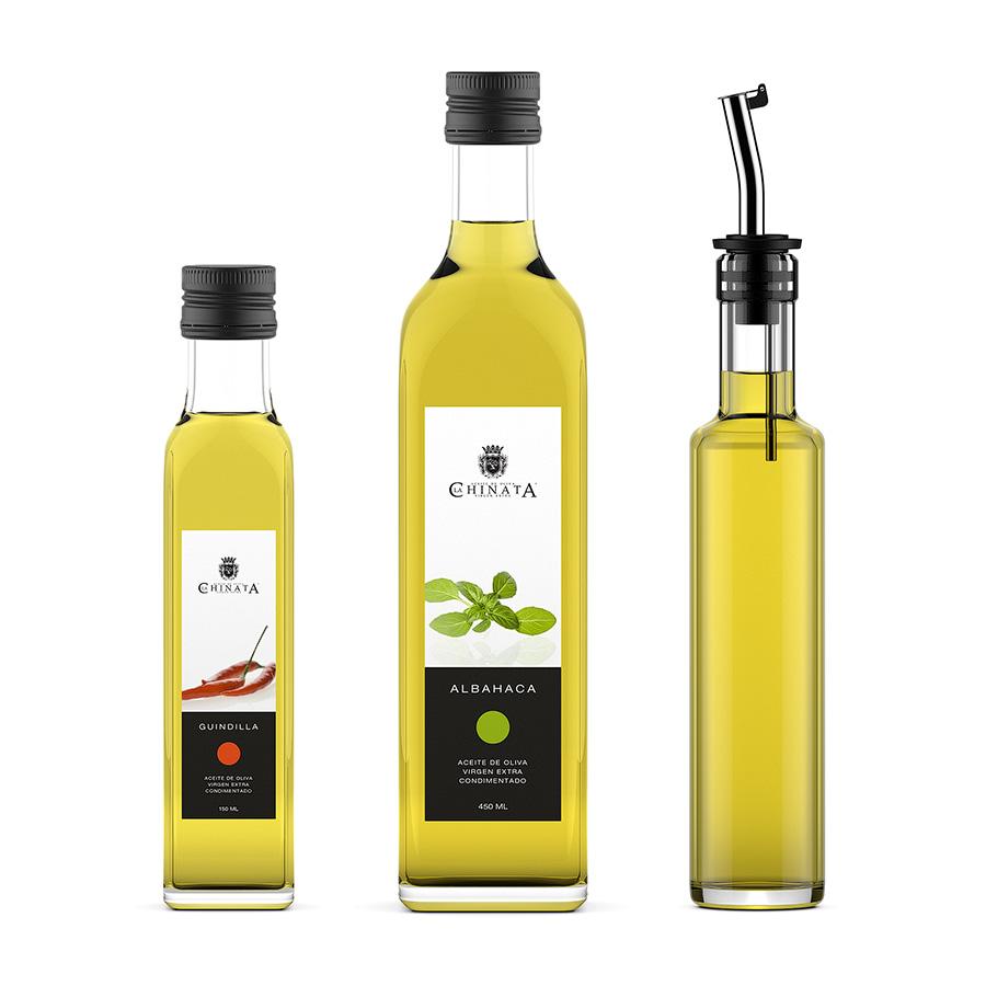 47f91edc7b87 Olive oil bottles 3d model