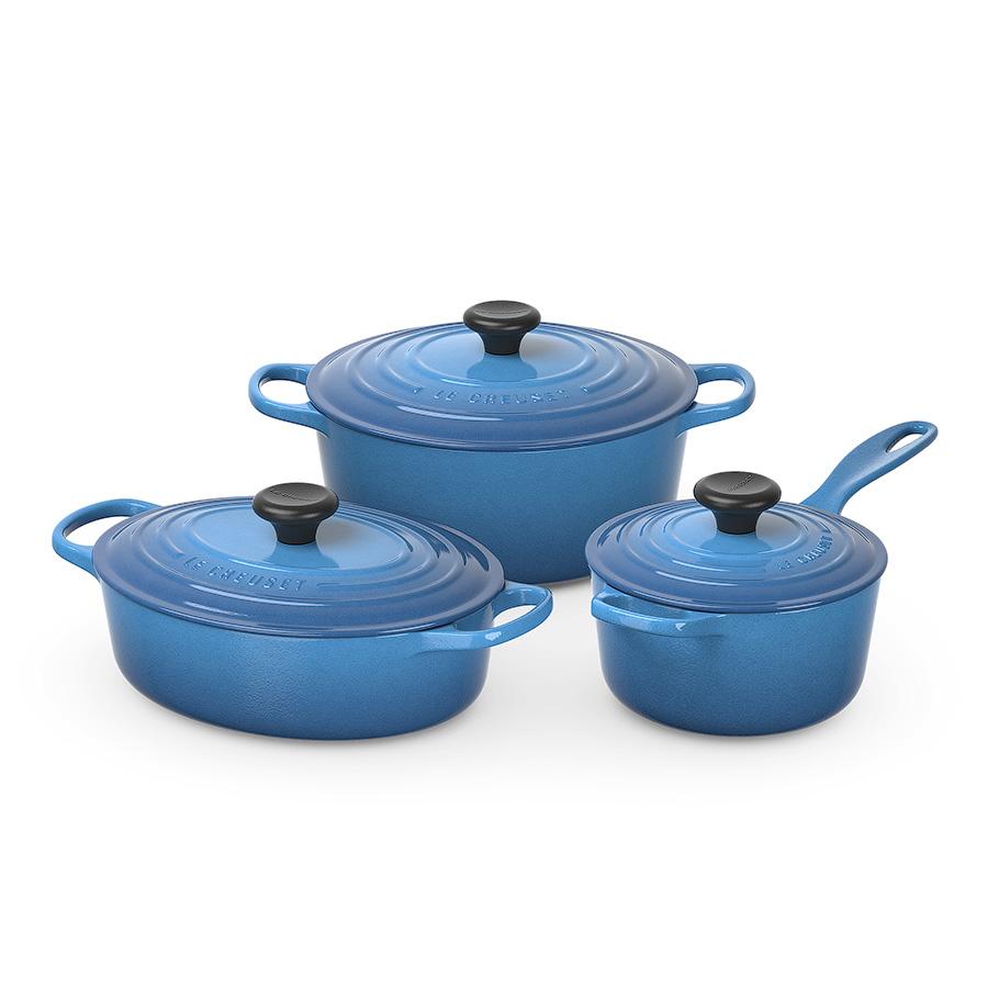 Kitchen Set Sketchup: Le Creuset Cookware Set 3d Model