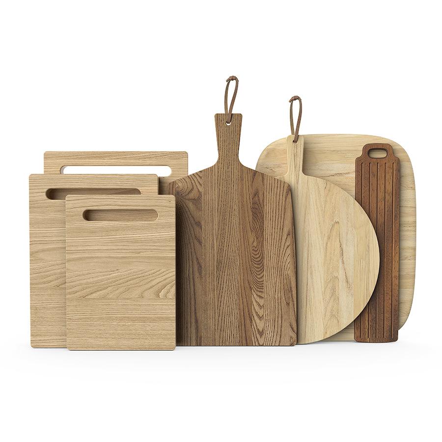 Wooden chopping boards 3d model