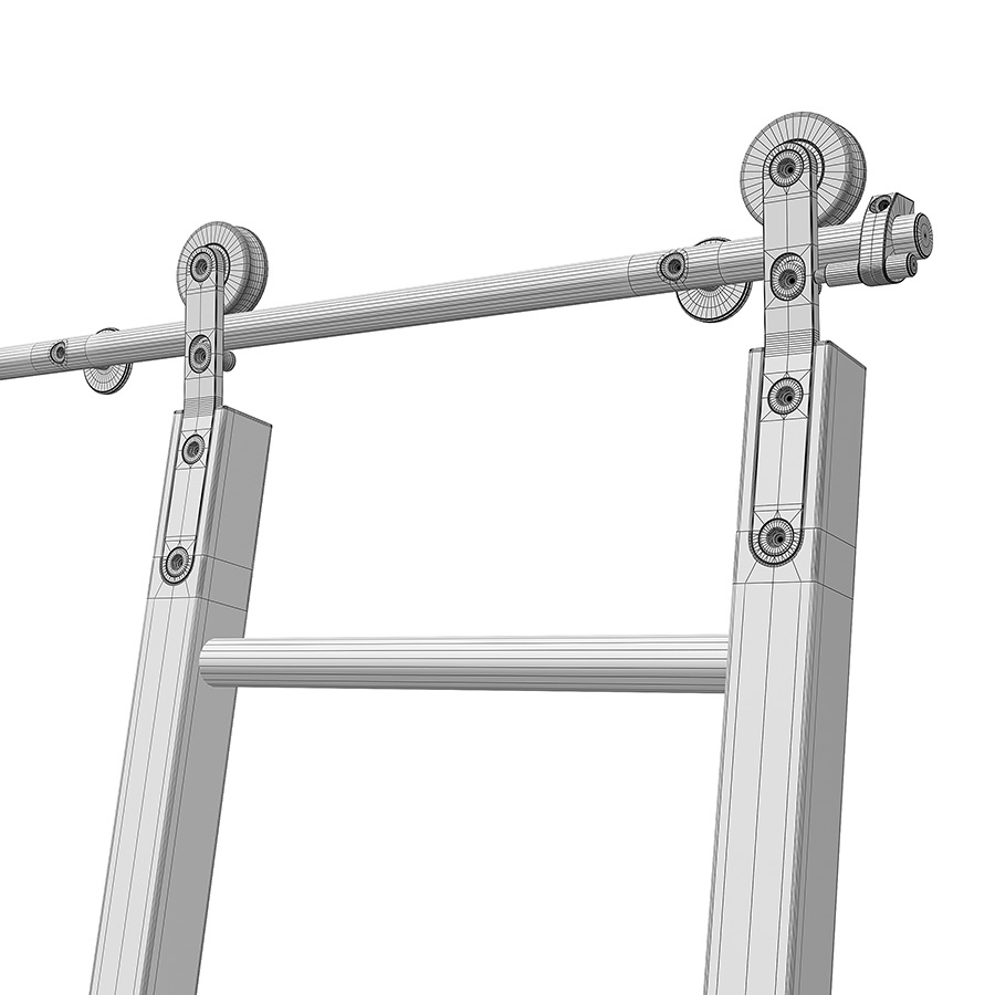 Slidding Ladder Free 3d Model