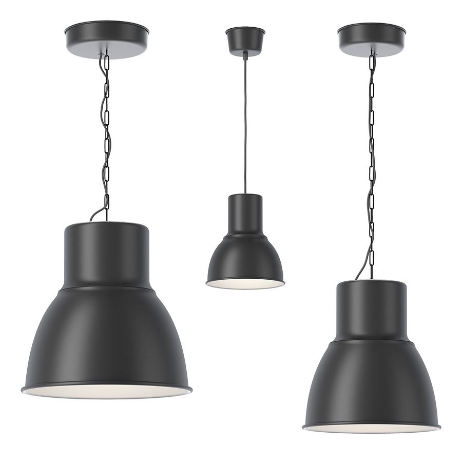 Ceiling Lights Pendants Lamps Ikea Hektar Pendant Lamp: Pendant Lamps 3d Model
